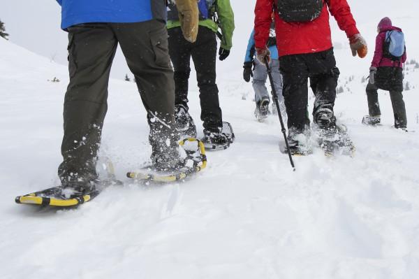 Snowshoeing at Sunshine Village Resort