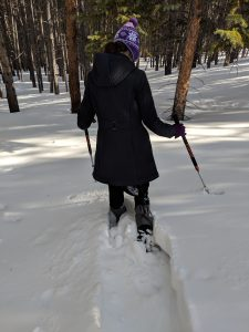 Breckenridge, Kahtoola navagaiter several feet of snow