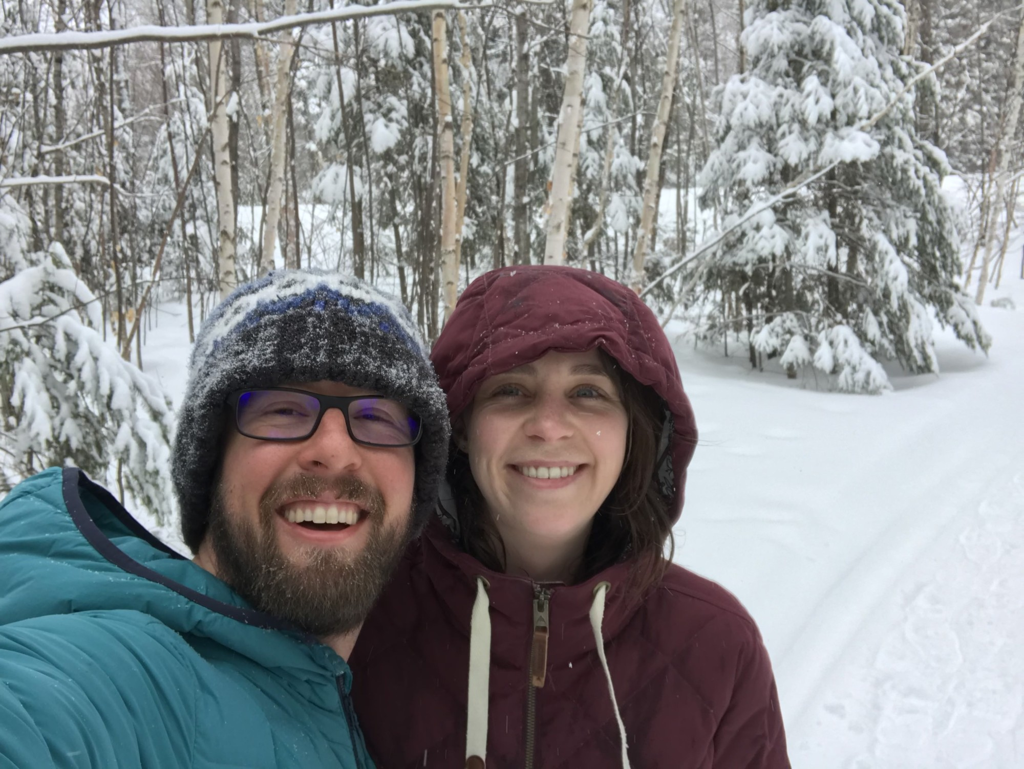 Snowshoe Magazine advertising: Paul and Susan Wowk, owners of the mag