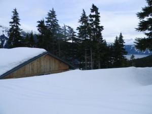 The lodge at 1200'