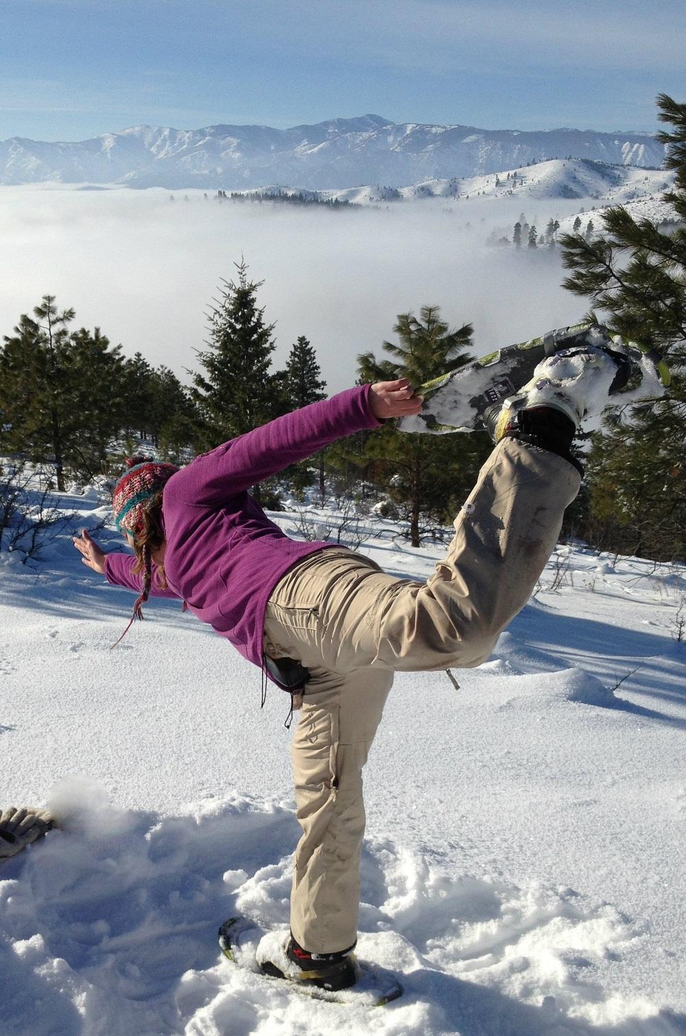 Dancer pose Snowga