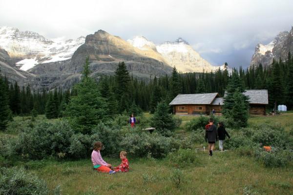 Families love the Elizabeth Parker Hut