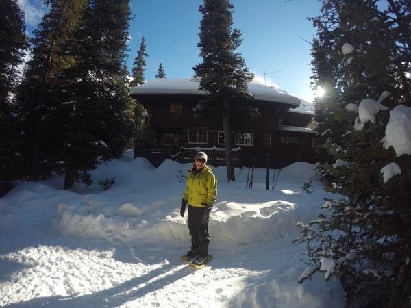 Paradise was never so luxurious in the backcountry