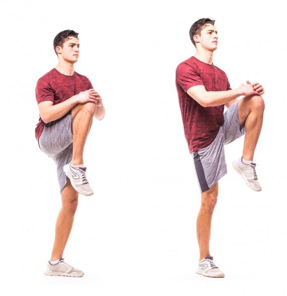 Cable Hip Flexion Exercise