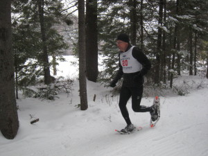Larry Zygo says that the morning sprints helped prepare him for the 5K.