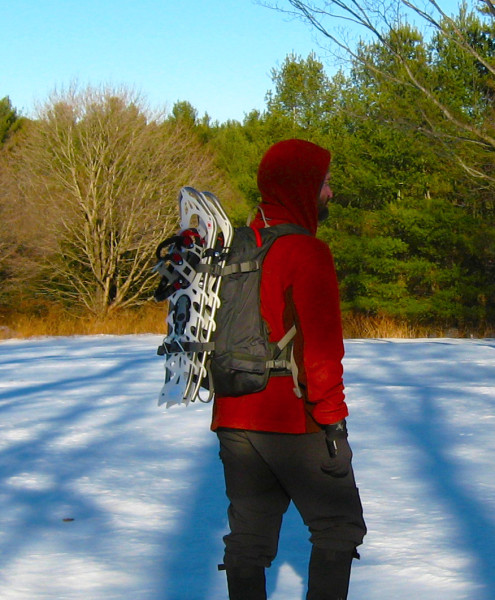 snowshoe backpack