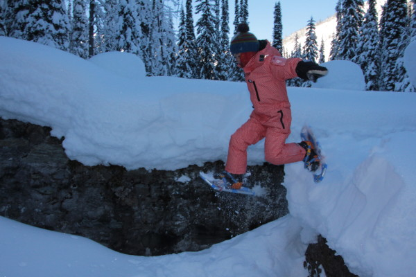 Finding a family-friendly way to explore Rogers Pass in winter