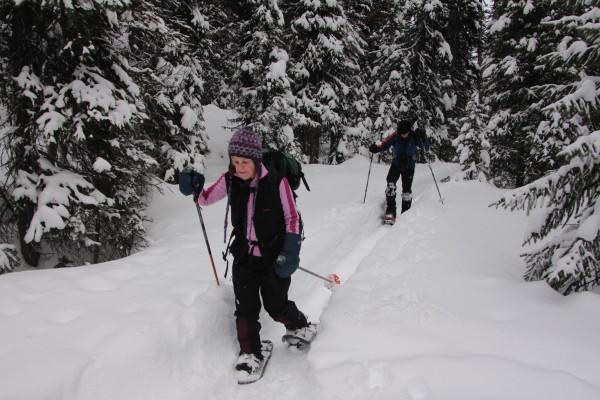 30+ years of skiing and snowshoeing at Lake O'Hara