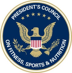 President's Fitness Challenge: logo for council on fitness, sports, nutrition