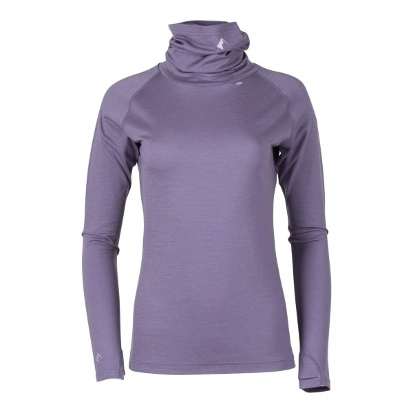 Ridge Merino Women's Aspect Merino Wool High Neck Top