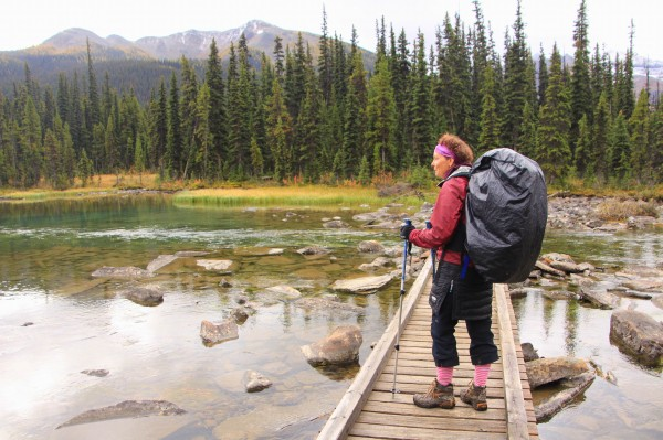 Backpacking to Shadow Lake