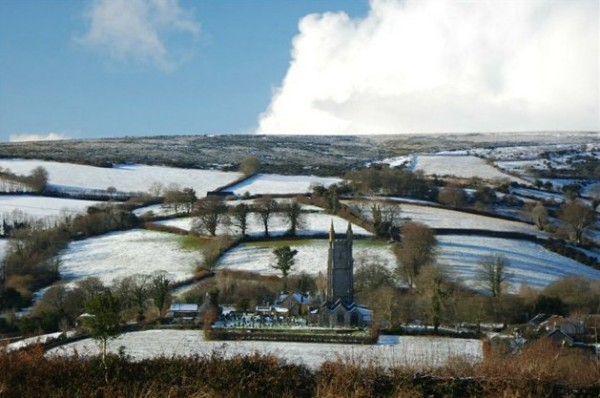 Snow on Dartmoor