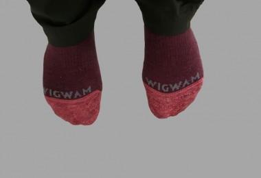 Wigwam socks close up