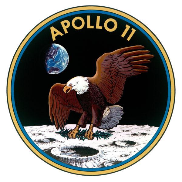 apollo 11 patch w eagle