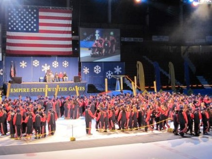 ceremony from Empire State Winter Games
