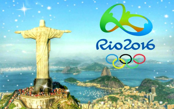 rio 2016 Olympics mountain ocean view