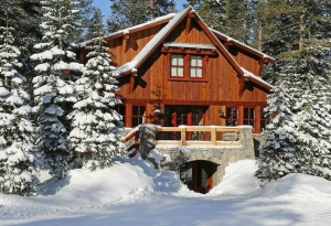 The Lodge at Sugar Bowl is a slopeside Alpine resort with Old World charm.