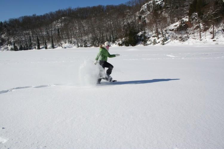 pierde in greutate snowshoeing)