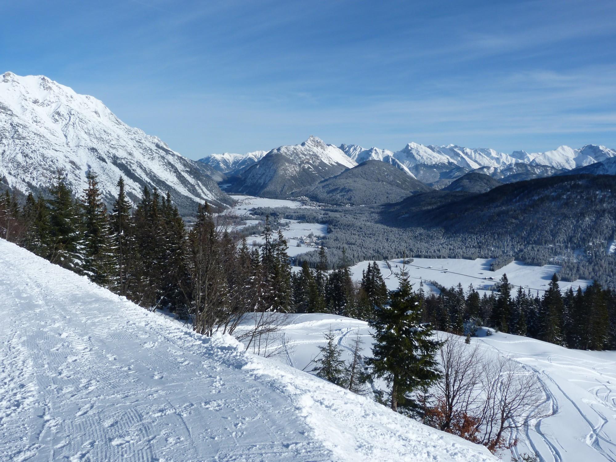 Austria, view of mountains