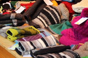 snowshoe clothes- gloves and hats
