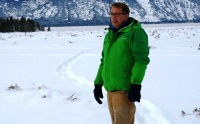 Out in the Tetons with the original field pants by Mountain Khakis.  (Photo by Brad Christensen.)
