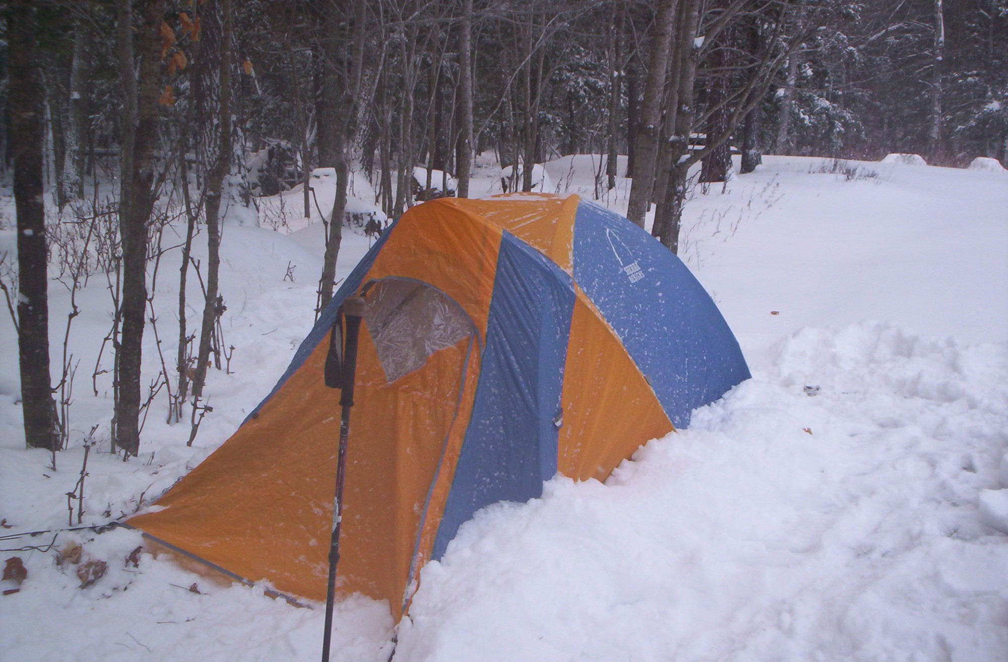 Winter Camping Tents : The snowshoe and tent experience magazine