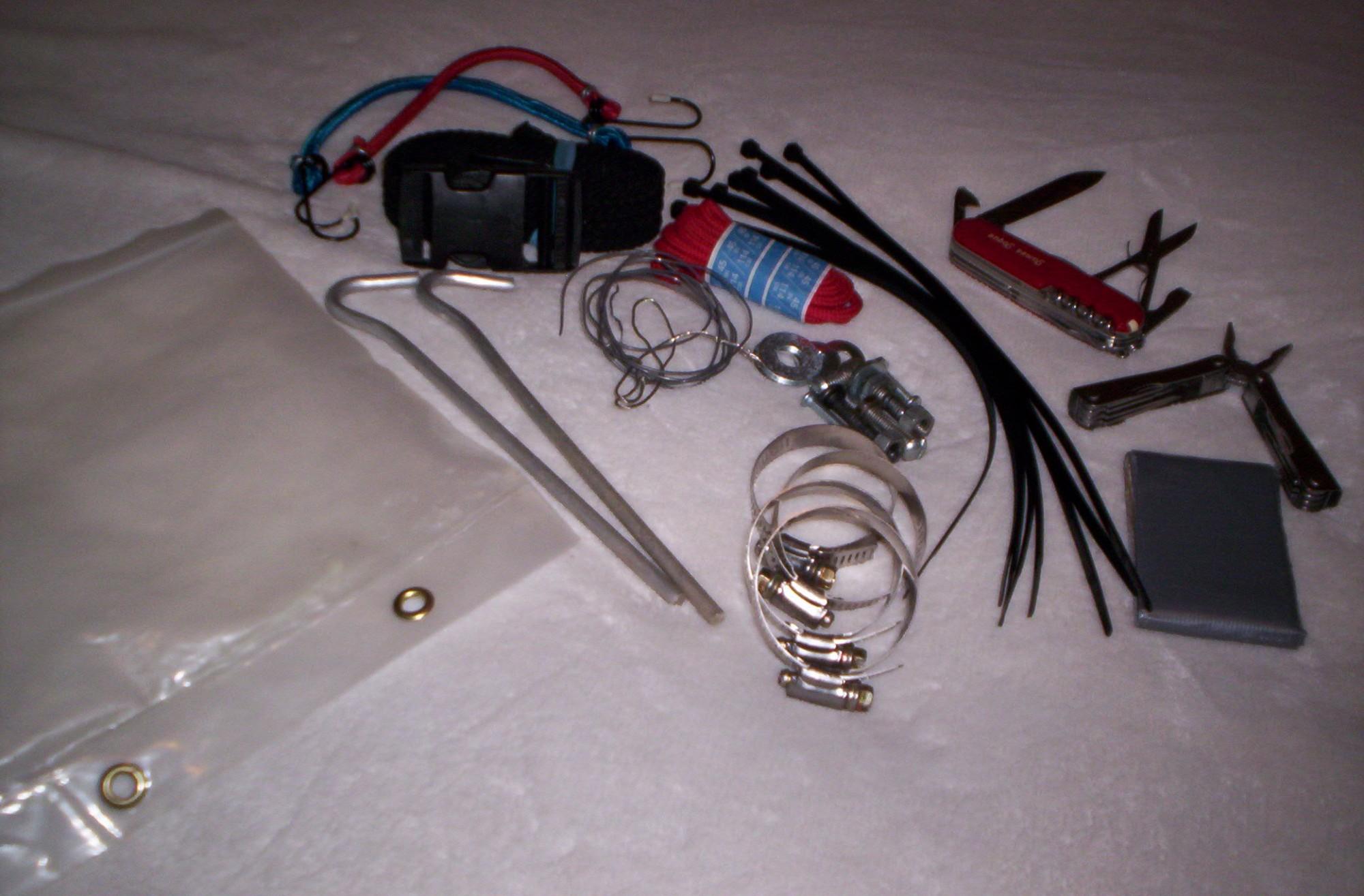 Snowshoeing Education 307: The Homemade Snowshoe Repair Kit ...