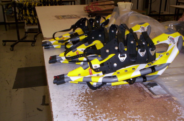 The Pace 21 by Redfeather….on the production line