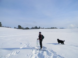 Snowshoeing Idaho