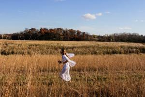 A serendipitous moment of an angel in flight (aka Shae Walker)