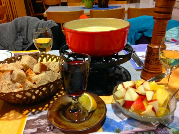 Image result for gluhwein and cheese fondue