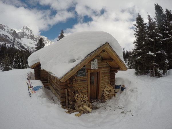 The Elizabeth Parker Hut, Lake O'Hara
