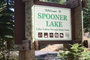 A familiar sign to local mountain bikers and outdoor enthusiasts alike