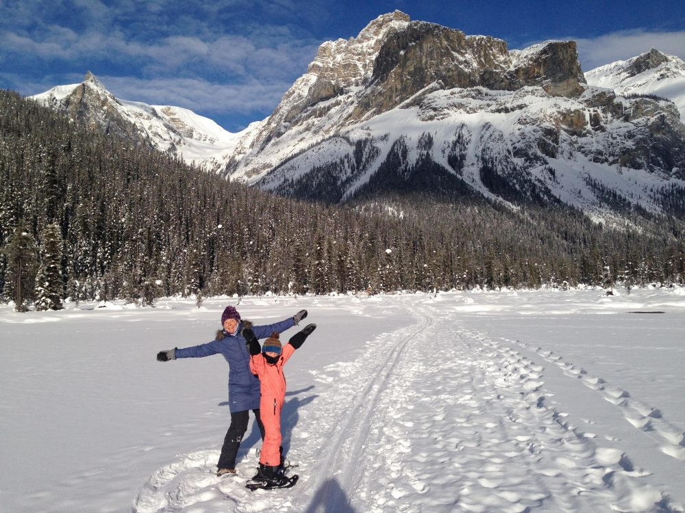 Ten Tips for Making Snowshoeing FUN with Kids
