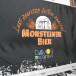 Sign on Monstein Brewery Truck