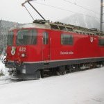 Typical Swiss train