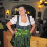 Waitress in Hotel Parsenn