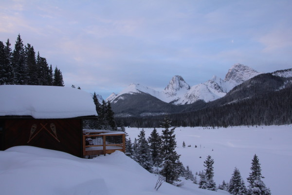 Private Cabin at Mount Engadine Lodge
