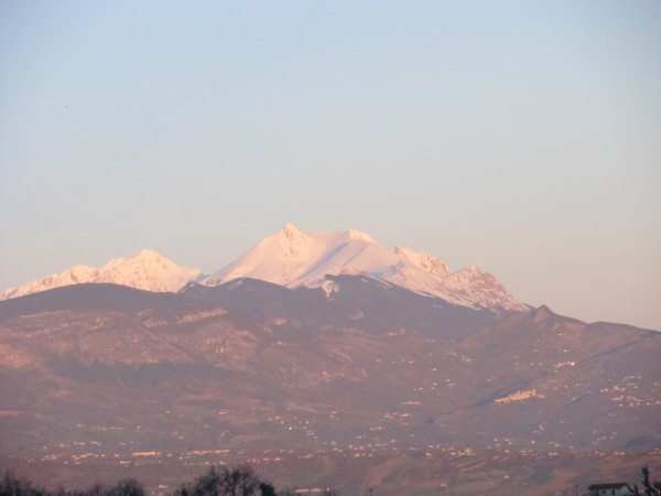 From Passo Lanciano to the Adriatic Coast