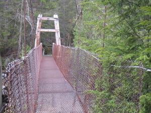 Bridge over the Cold River