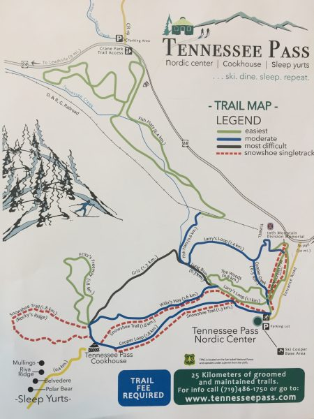 Tennessee Pass Trails