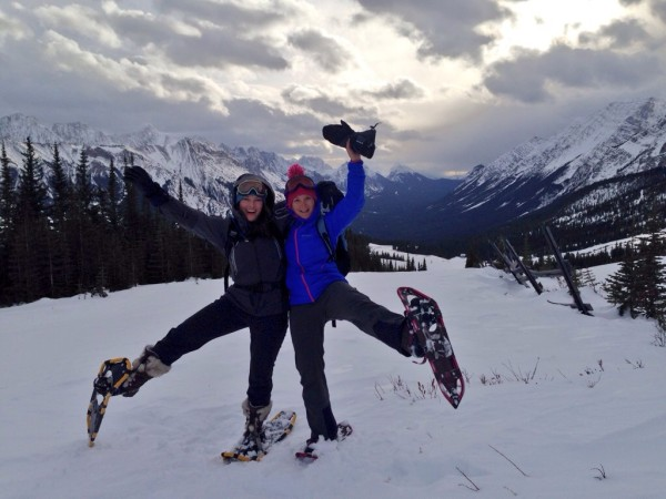 Lots of fun on Snowshoe Tours at Fortress Mountain
