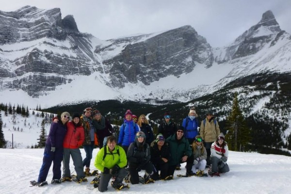 Snowshoeing at Fortress Mountain