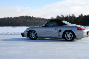 Ice Driving with Porsche Canada Jenn Smith Nelson