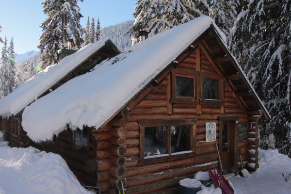 Rustic but comfortable accommodations at Rogers Pass
