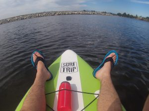 How Paddle Boarding in the Summer can Prepare you for Snowshoeing in the Winter