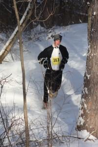 Men's 10k winner Jeffrey Quednow