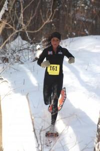 Women's 10k winner Jennifer Chaudoir