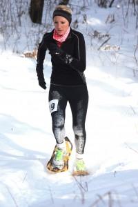 Women's 5k winner Michayla Heil