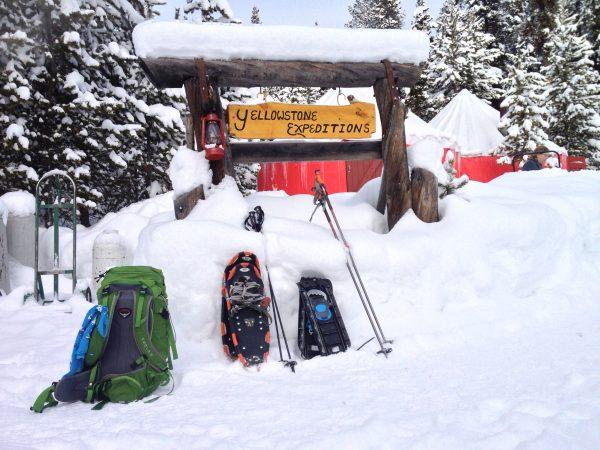 Yellowstone Expedition's Yurt Camp.